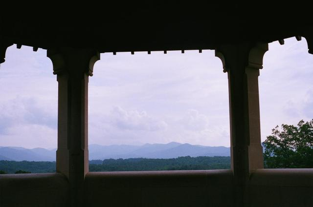 A view from the Biltmore Estate