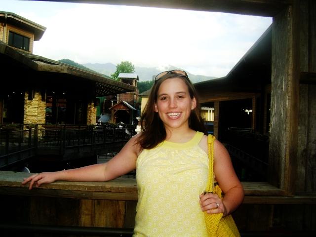 me, in Gatlinburg, TN