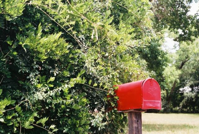 a mail box