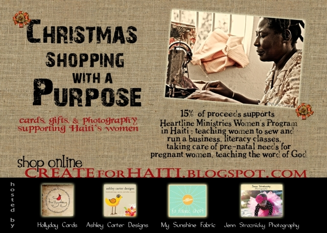 Create for Haiti info and image