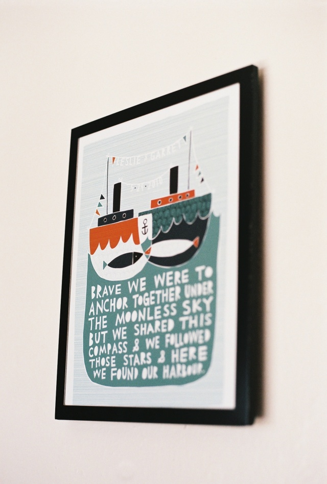 Found our Harbour print
