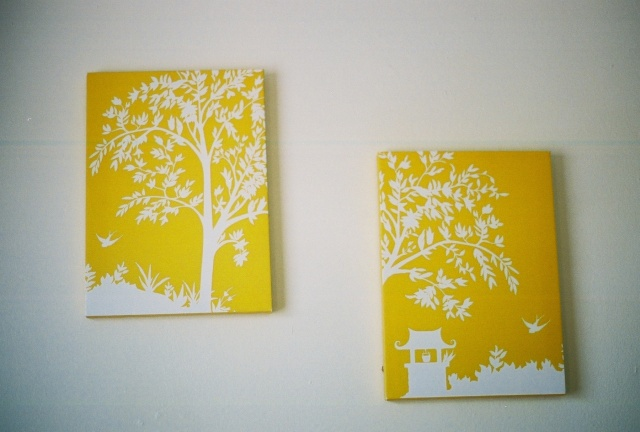 yellow canvasses