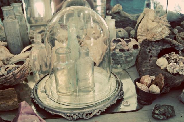 random vintage artifacts in Round Top