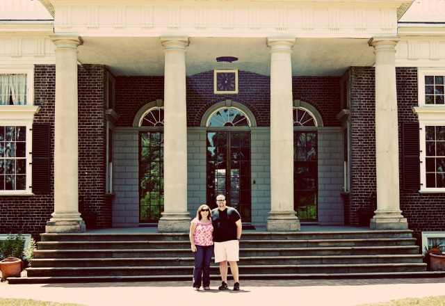 Garret and I at Monticello