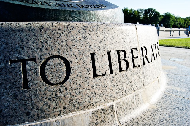 """To Liberate"" at the World War II Memorial"