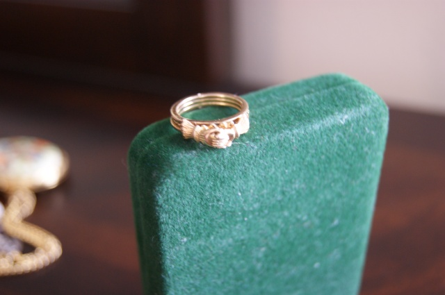a ring from my dad