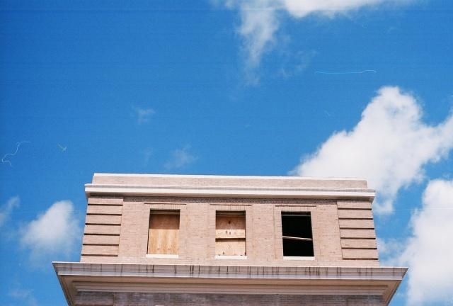 YMCA building windows