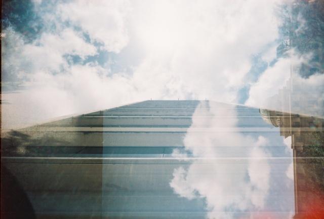 Rudder Tower double exposure September 2010