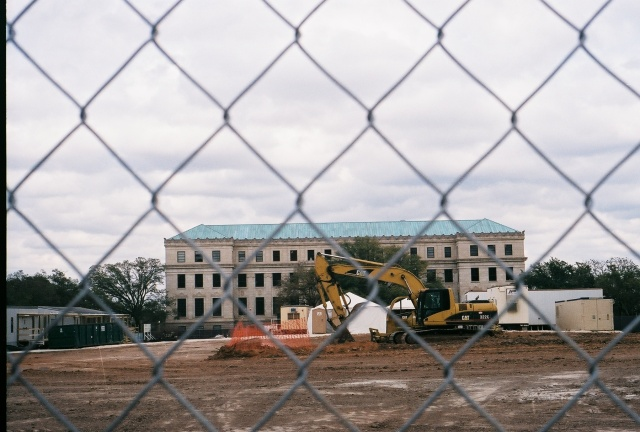 Texas A&M Administration Building and construction