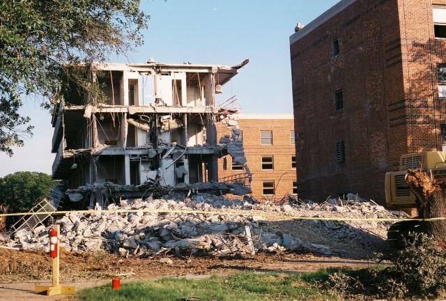northside dorm demolition