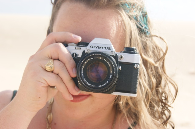 me and camera