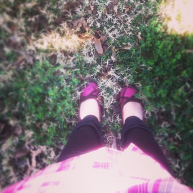 my favorite pink shoes